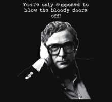 Michael Caine by CrunchMcGee