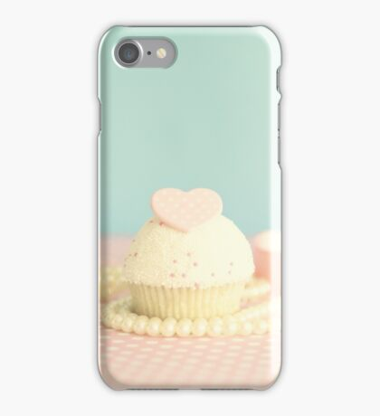 Love Cupcake and Pearls iPhone Case/Skin