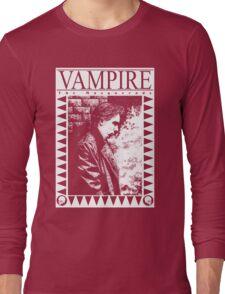 Retro: Vampire: The Masquerade Pouty Long Sleeve T-Shirt