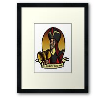 The Royal Vizier Framed Print