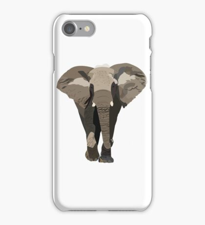 Elephant, Graphic Design iPhone Case/Skin