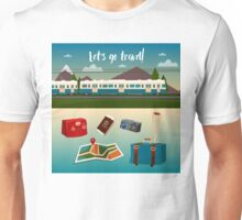 Time to Travel by Train Unisex T-Shirt