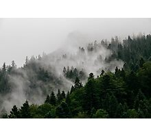 Alpine Mist Photographic Print