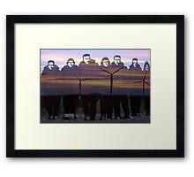 """""""Lest we forget """"- 158  squadron Lissett  Framed Print"""