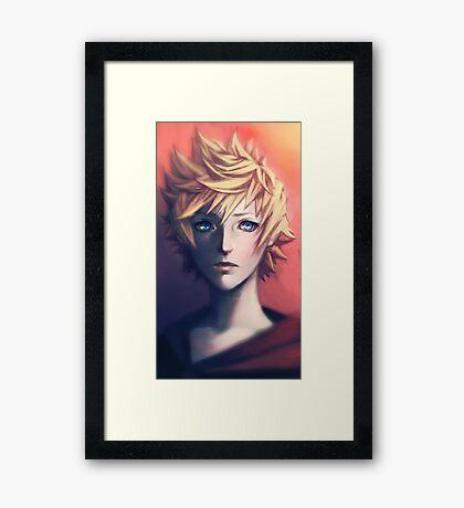 Roxas Framed Print