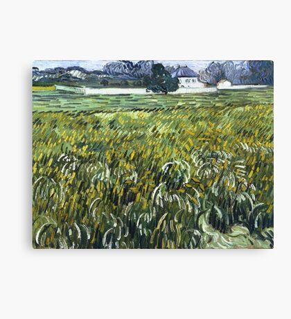 Vincent Van Gogh - House At Auvers 1890 Canvas Print