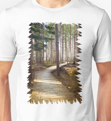 Silent forest fresh air Unisex T-Shirt