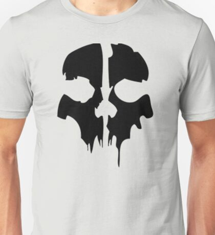 Call of Duty Ghosts Skull  Unisex T-Shirt