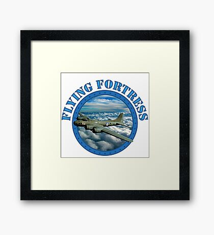 Flying Fortress Framed Print