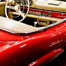 Red 300 SL  by Shaun Colin Bell