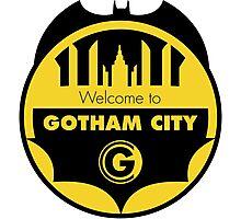 Welcome Gotham Photographic Print