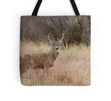 Which way did she go? - White-tailed deer Buck Tote Bag