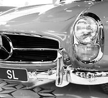 300 SL B&W by Shaun Colin Bell