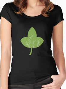 Greenery -  Pantone Color of the Year 2017 Women's Fitted Scoop T-Shirt