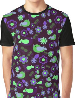 Spring night pattern Graphic T-Shirt
