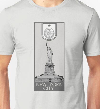 New York City Seal - Statue of Liberty Unisex T-Shirt