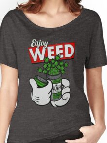 Enjoy weed Women's Relaxed Fit T-Shirt