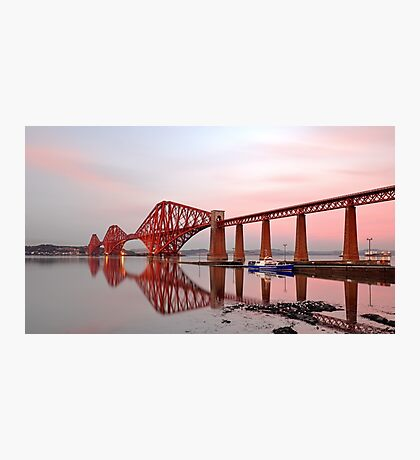 Forth Railway Bridge Sunset Photographic Print