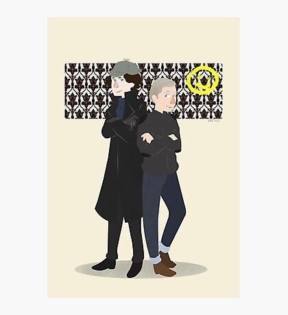 Baker Street Boys Photographic Print
