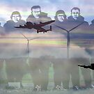"""Lest we forget ""- 158  squadron Lissett by Merice  Ewart-Marshall - LFA"