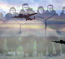 """Lest we forget ""- 158  squadron Lissett by Merice Ewart Marshall - LFA"