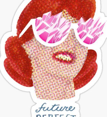 Future Perfect Rose colored glasses Sticker