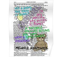 Melanie Martinez Book Art #2 Poster