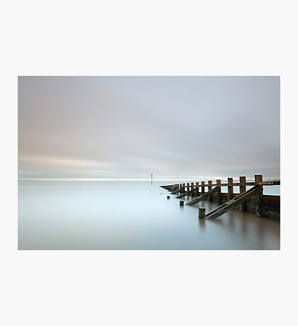 Portobello Sea Groynes Photographic Print