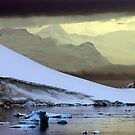 Antarctic Mountain Landscape by John Dalkin