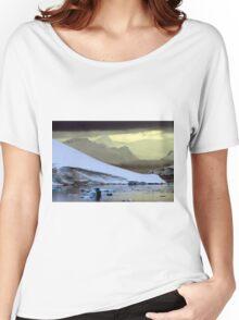 Antarctic Mountain Landscape Women's Relaxed Fit T-Shirt