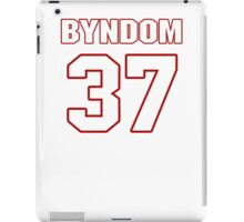 NFL Player Carrington Byndom thirtyseven 37 iPad Case/Skin