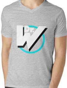 Dr. Wily Logo Mens V-Neck T-Shirt