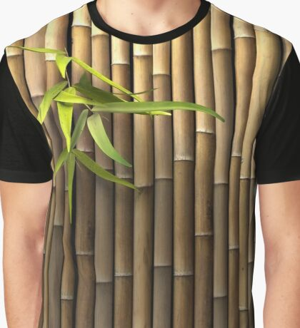 Bamboo Wall Graphic T-Shirt