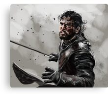 Game of Thrones: Jon Snow Canvas Print