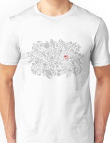 I give you my heart! Unisex T-Shirt