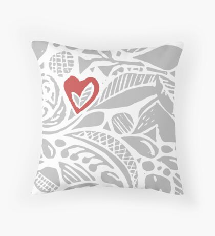 I give you my heart! Throw Pillow