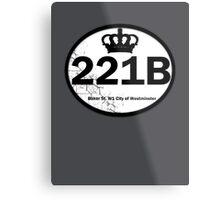 221B Baker St. Metal Print