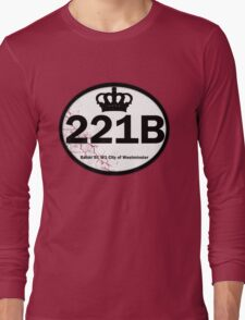 221B Baker St. Long Sleeve T-Shirt
