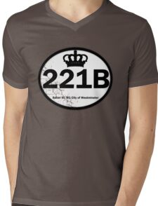 221B Baker St. Mens V-Neck T-Shirt