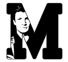 M for Mal Photographic Print