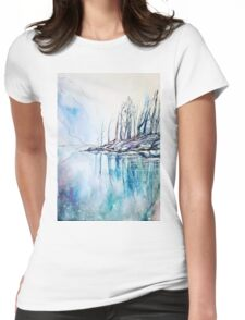 The other side of the mountain Womens Fitted T-Shirt