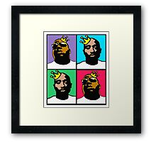 HIP-HOP ICONS: NOTORIOUS THUGS (4-COLOR) Framed Print