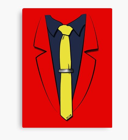 Lupin III's suit Canvas Print