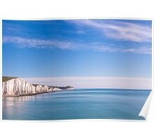 Seven Sisters, East Sussex, UK Poster