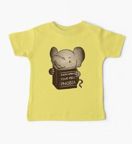 Elephant Overcoming Your Mice Phobia  Baby Tee