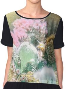 Finders Keepers - Ocean Treasures Chiffon Top