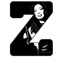 Z is for Zoe Photographic Print