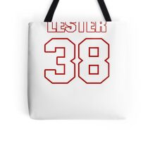 NFL Player Robert Lester thirtyeight 38 Tote Bag
