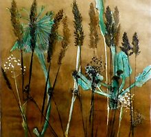 "Morington Peninsula Grassland  1 by Belinda ""BillyLee"" NYE (Printmaker)"