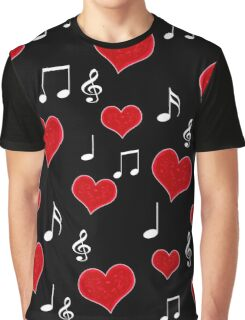 Love song - Valentines day Graphic T-Shirt